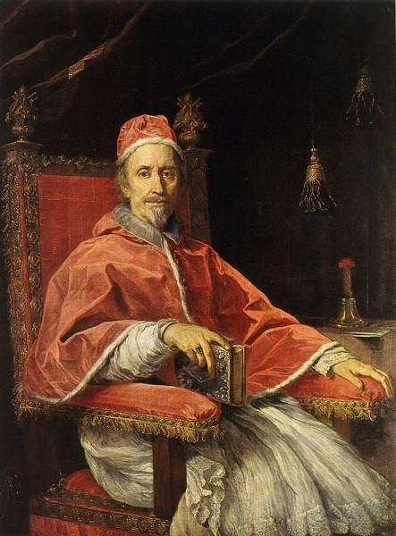 Portrait of Pope Clement IX
